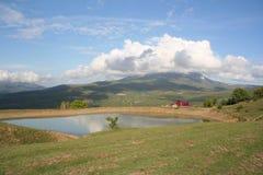 Paesaggio scenico della campagna Fotografia Stock