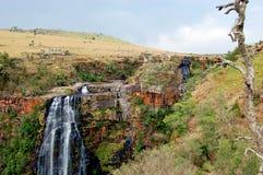 Paesaggio scenico della cascata fotografia stock libera da diritti