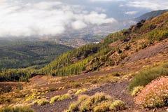 Paesaggio scenico della valle della montagna Fotografia Stock Libera da Diritti