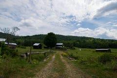 Paesaggio scenico di Elkton, la Virginia intorno al cittadino di Shenandoah Immagine Stock Libera da Diritti