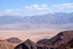 Paesaggio scenico in montagne di Eilat Fotografie Stock