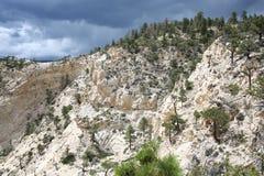 Paesaggio scenico nell'Utah, spina dorsale del ` s dell'inferno, U.S.A. fotografia stock libera da diritti