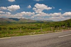 Paesaggio scenico vibrante dal ad ovest dell'Irlanda Immagine Stock