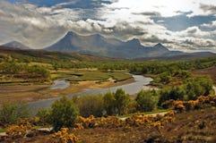 Paesaggio scozzese Immagine Stock
