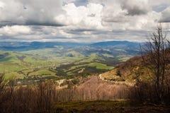 Paesaggio selvaggio della montagna Immagini Stock Libere da Diritti