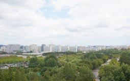 Paesaggio a Seoul, Corea del Sud immagine stock