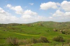 Paesaggio in Sicilia, Italia Immagine Stock Libera da Diritti
