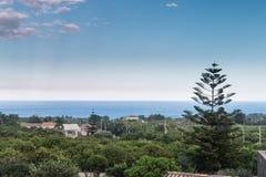 Paesaggio siciliano Immagini Stock