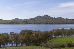 Paesaggio siciliano naturale Immagini Stock