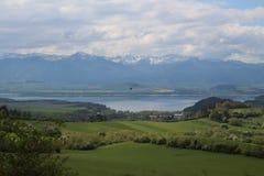 Paesaggio slovacco Fotografia Stock