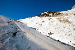 Paesaggio slovacco delle montagne di Belianske Tatry Immagine Stock Libera da Diritti