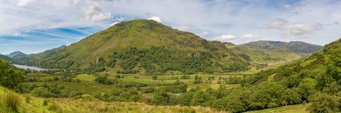 Paesaggio in Snowdonia, Galles, Regno Unito fotografie stock libere da diritti