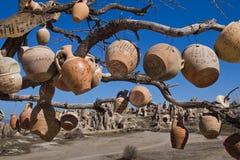 Paesaggio soleggiato delle montagne di Cappadocia Fotografia Stock Libera da Diritti