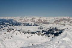Paesaggio sopra le alpi Immagine Stock Libera da Diritti