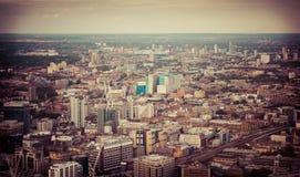 Paesaggio sopra Londra Immagine Stock Libera da Diritti