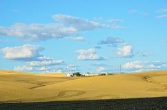 Paesaggio spagnolo del paese in primavera Fotografie Stock