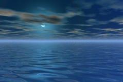 Paesaggio spettrale Fotografia Stock
