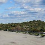 Paesaggio, strada, inverno, febbraio, Portogallo, Algarve Immagini Stock Libere da Diritti