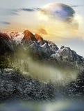 Paesaggio straniero Fotografia Stock