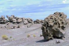 Paesaggio straniero in canyon di fantasia, Utah fotografia stock libera da diritti