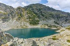 Paesaggio stupefacente dei laghi Musalenski, montagna di Rila Fotografia Stock Libera da Diritti