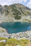 Paesaggio stupefacente dei laghi Musalenski, montagna di Rila Immagini Stock