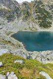 Paesaggio stupefacente dei laghi Musalenski, montagna di Rila Immagine Stock Libera da Diritti