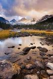 Paesaggio stupefacente della montagna Fotografie Stock