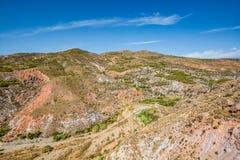 Paesaggio stupefacente di Sierra Nevada, regione Almeria/di Alpujarra Immagine Stock
