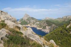 Paesaggio su Mallorca Immagini Stock Libere da Diritti