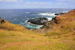 Paesaggio su Phillip Island, Victoria Fotografia Stock