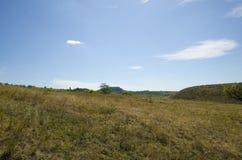 Paesaggio su terreno ruvido Fotografia Stock
