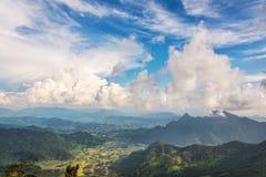Paesaggio sul 'chi' Fa Forest Park di Phu Immagini Stock