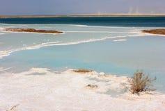 Paesaggio sul mar Morto Immagine Stock