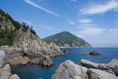 Paesaggio sul mare 8 Fotografia Stock