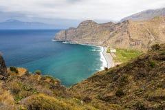 Paesaggio sull'isola di Gomera, Spagna Fotografia Stock
