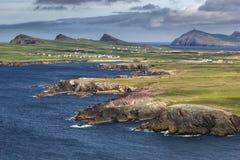 Paesaggio sulla penisola delle Dingle immagine stock