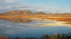 Paesaggio Sunlit Fotografie Stock