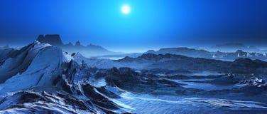 paesaggio surreale 3D Immagini Stock