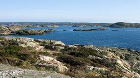 Paesaggio svedese tipico immagine stock