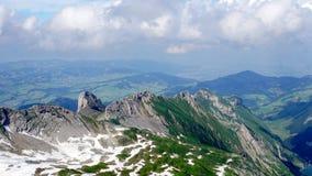 Paesaggio in Svizzera Fotografia Stock