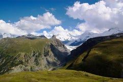 Paesaggio svizzero della montagna Fotografia Stock Libera da Diritti