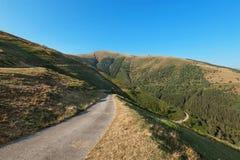 Paesaggio svizzero della montagna fotografie stock