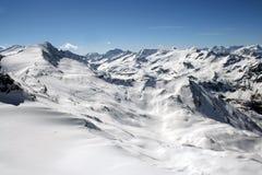 Paesaggio svizzero delle alpi Fotografie Stock Libere da Diritti
