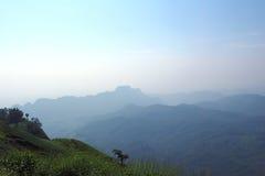Paesaggio Tailandia della valle della montagna Fotografia Stock Libera da Diritti