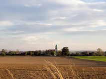 Paesaggio in Tarczew, Polonia Immagini Stock Libere da Diritti