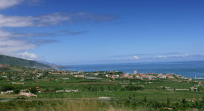 Paesaggio Tenerife Spagna immagine stock