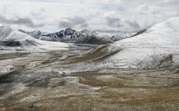 Paesaggio tibetano fotografia stock