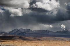 Paesaggio tibetano Immagini Stock