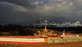 Paesaggio tibetano Immagine Stock